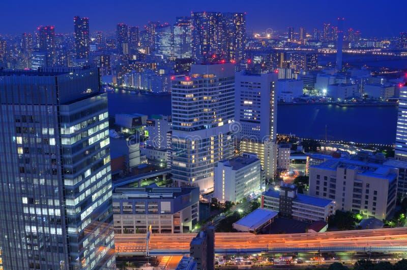 Arquitectura da cidade de Tokyo fotos de stock royalty free
