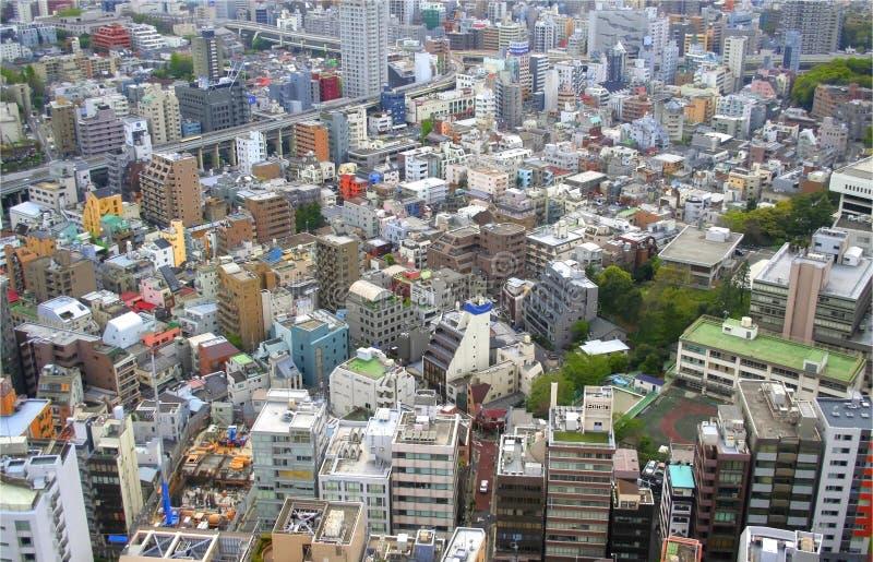 Arquitectura da cidade de Tokyo fotos de stock