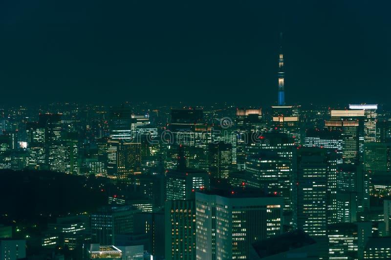 Arquitectura da cidade do Tóquio imagem de stock royalty free