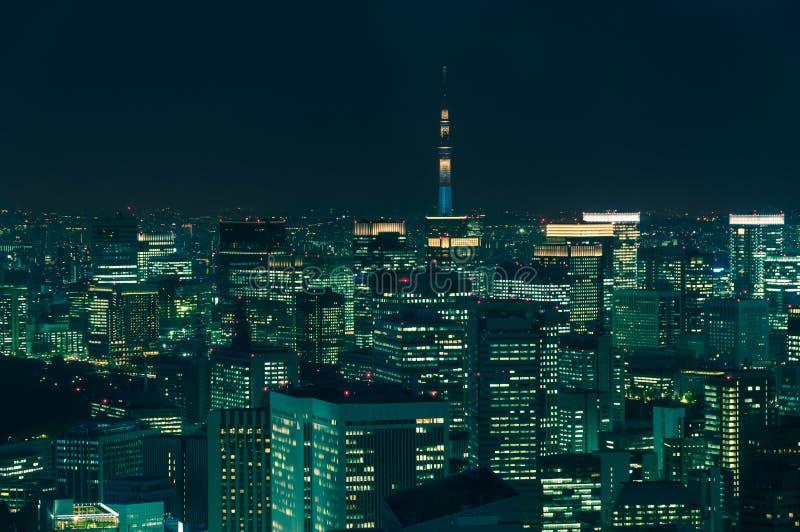 Arquitectura da cidade do Tóquio imagem de stock