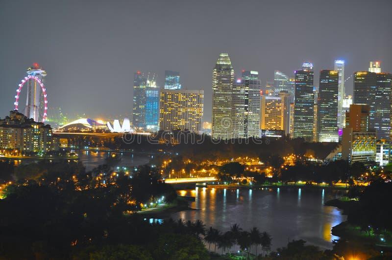 Arquitectura da cidade por Kallang Bacia fotos de stock royalty free