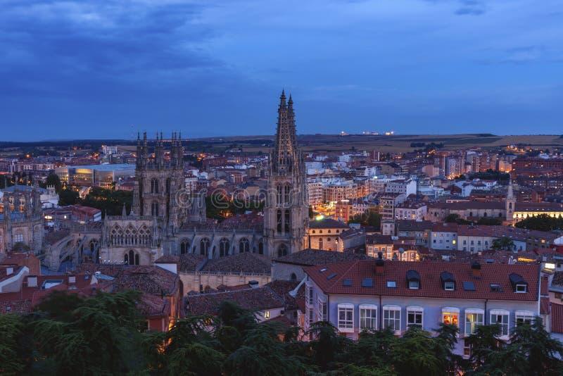 Arquitectura de Burgos fotos de archivo libres de regalías