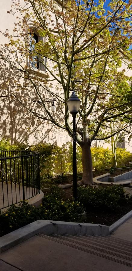 Arquitectura de Casa del Prado Historic en el parque San Diego California del balboa fotos de archivo