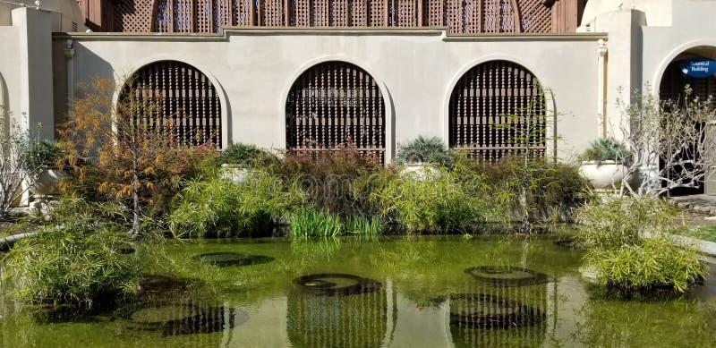 Arquitectura de Casa del Prado Historic en el parque San Diego California del balboa fotos de archivo libres de regalías