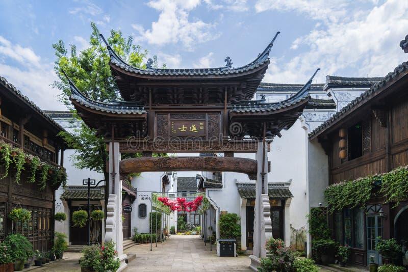 Arquitectura de Huizhou foto de archivo