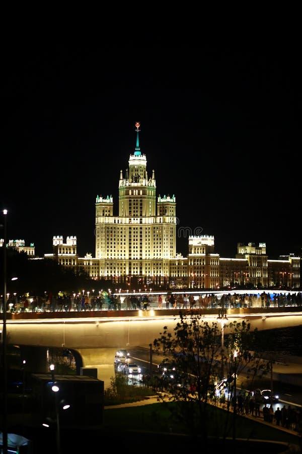 Arquitectura de la capital de Rusia fotografía de archivo