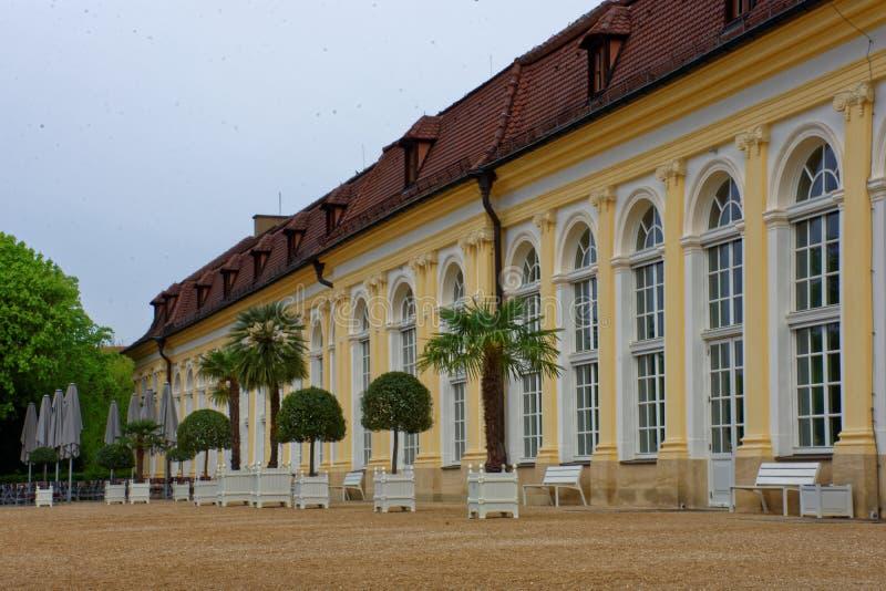 Arquitectura de la ciudad de Ansbach imágenes de archivo libres de regalías