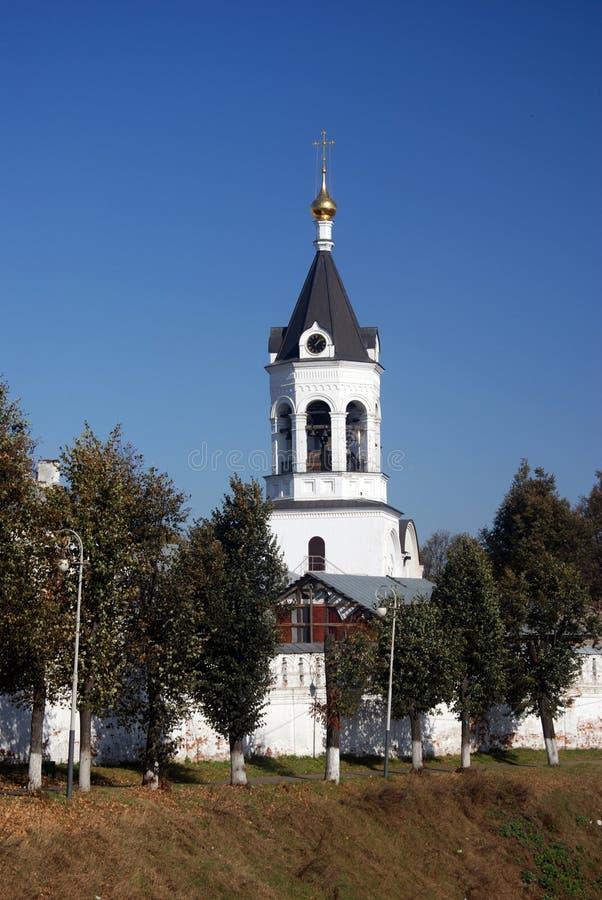 Arquitectura de la ciudad de Vladimir, Rusia Naturaleza del otoño imagen de archivo libre de regalías