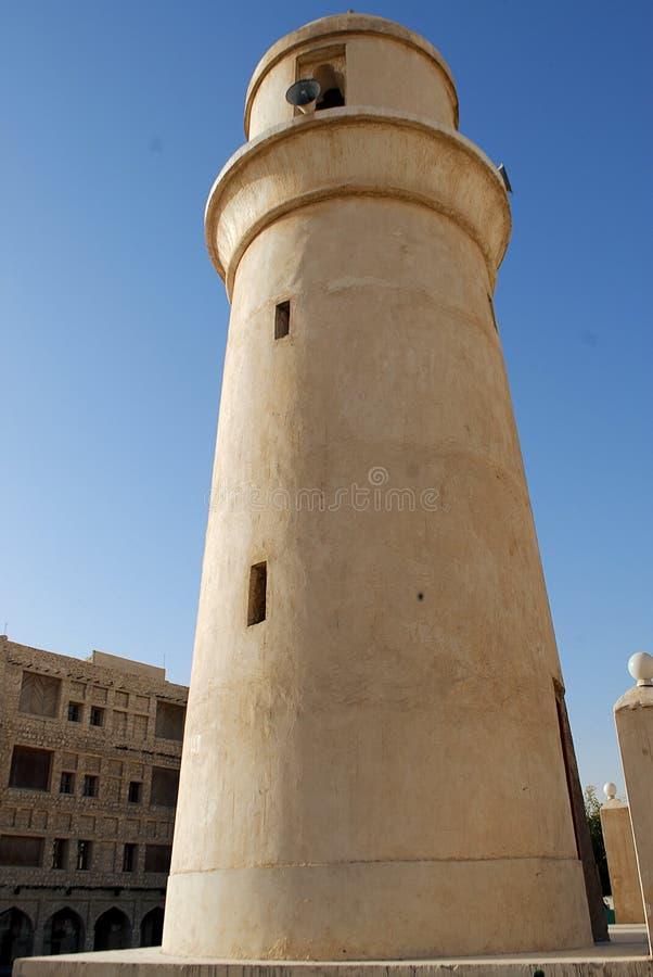 Arquitectura de la herencia en Doha foto de archivo