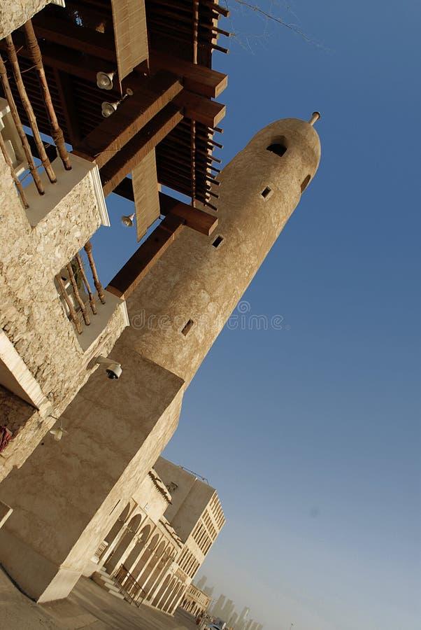Arquitectura de la herencia en Doha fotos de archivo libres de regalías