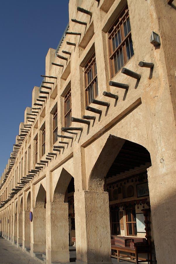 Arquitectura de la herencia en Doha imagen de archivo