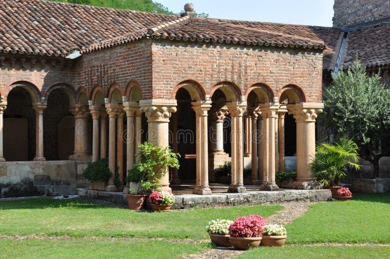 Arquitectura de la iglesia San Zeno Verona fotografía de archivo libre de regalías