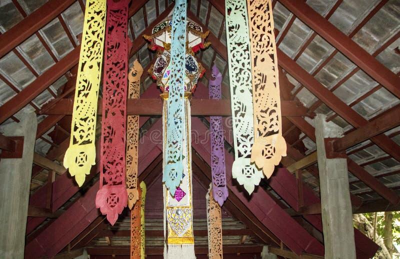 Arquitectura de Lanna foto de archivo