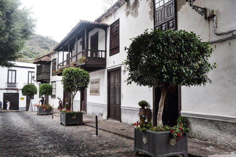 Arquitectura de las islas Canarias foto de archivo