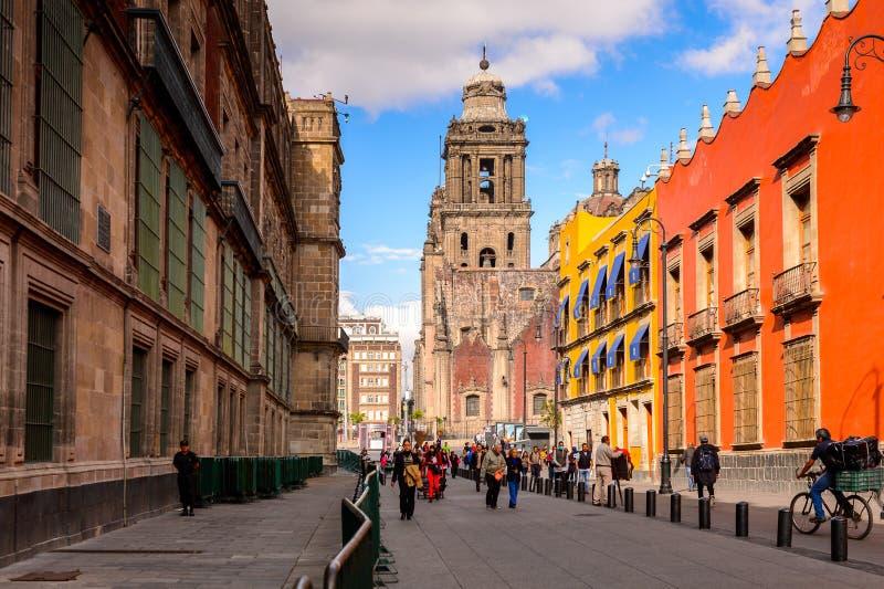 Arquitectura de México DF imagen de archivo
