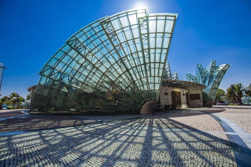 Arquitectura de Macao fotografía de archivo libre de regalías
