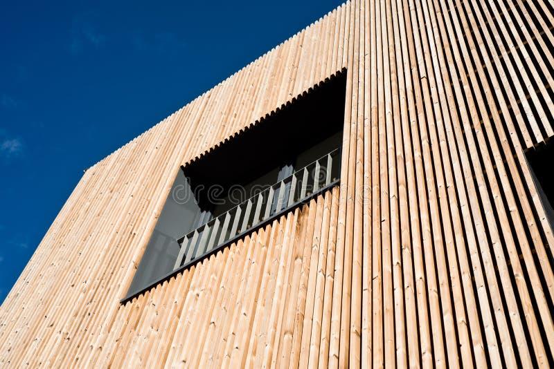 Arquitectura de madera foto de archivo libre de regalías