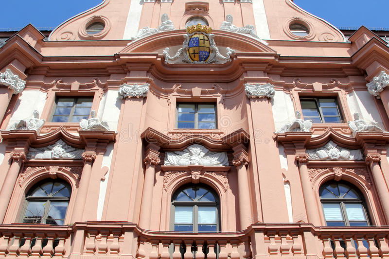Arquitectura de Maguncia, Alemania foto de archivo