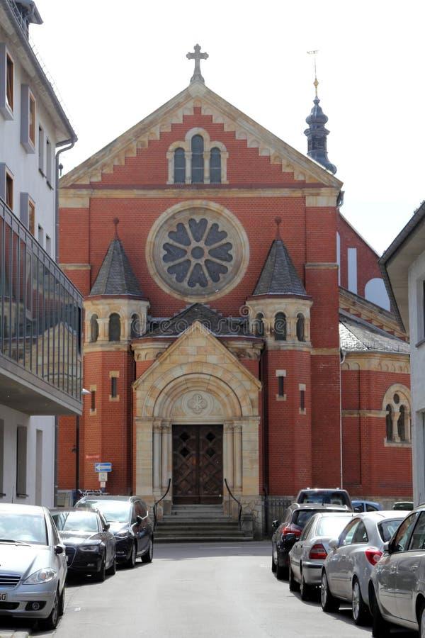 Arquitectura de Maguncia, Alemania foto de archivo libre de regalías