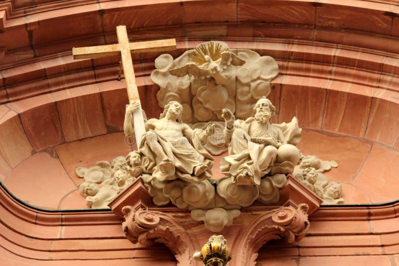 Arquitectura de Maguncia, Alemania imagen de archivo libre de regalías