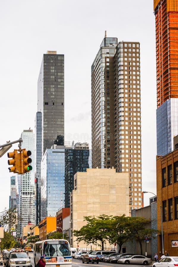 Arquitectura de Manhattan, Nueva York, los E.E.U.U. fotografía de archivo