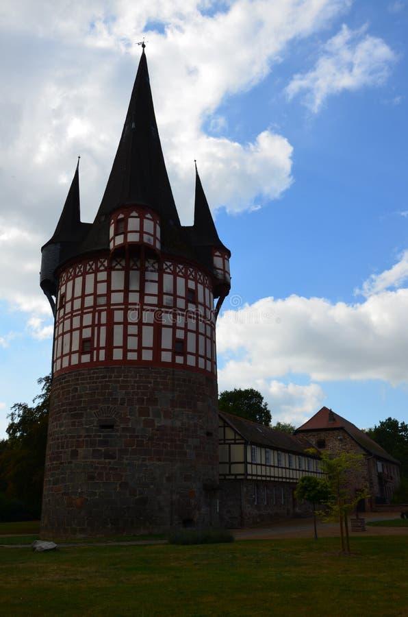 Arquitectura de Neustadt, Alemania imagen de archivo libre de regalías