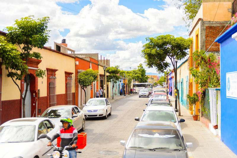 Arquitectura de Oaxaca foto de archivo