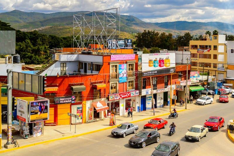 Arquitectura de Oaxaca fotografía de archivo libre de regalías