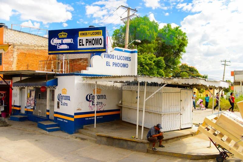 Arquitectura de Oaxaca imagen de archivo
