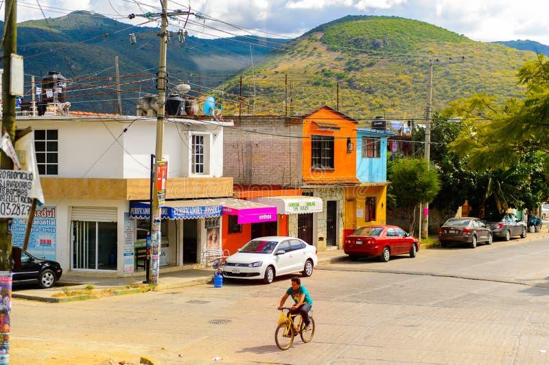 Arquitectura de Oaxaca fotografía de archivo