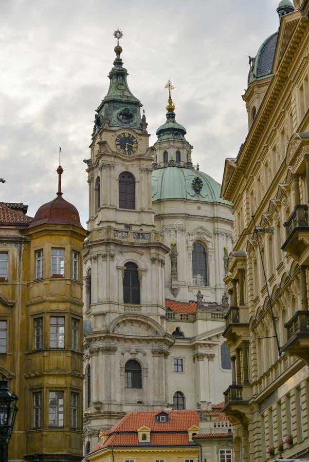 Arquitectura de Praga fotografía de archivo libre de regalías