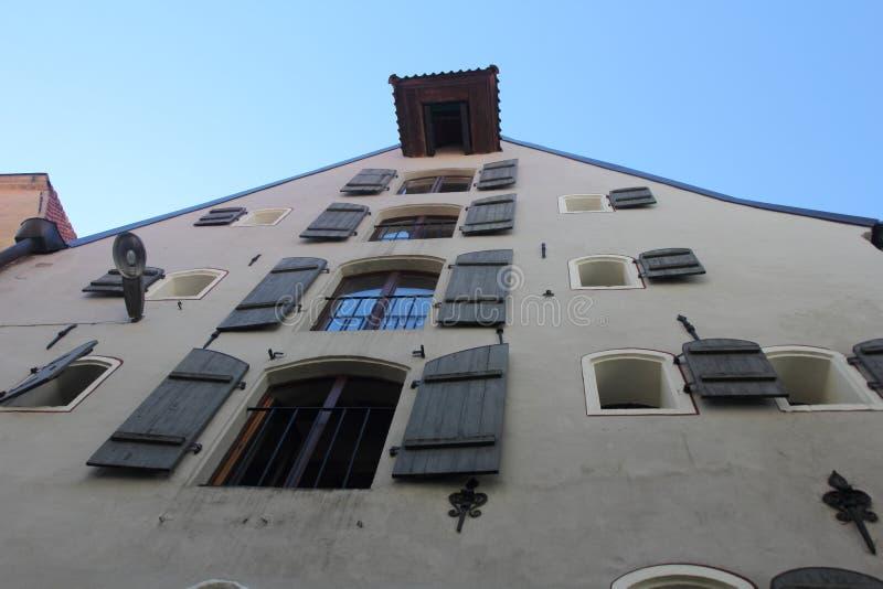 Arquitectura de Riga, Letonia fotos de archivo libres de regalías
