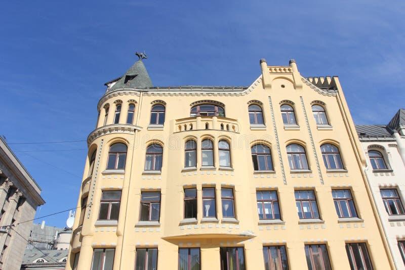 Arquitectura de Riga, Letonia fotografía de archivo