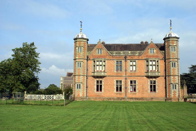 Arquitectura de Tudor fotografía de archivo