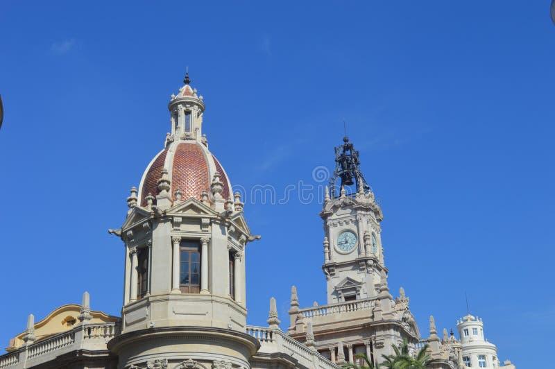 Arquitectura de Valencia fotos de archivo