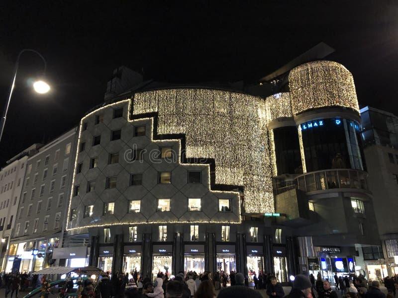 Arquitectura de Wien fotos de archivo