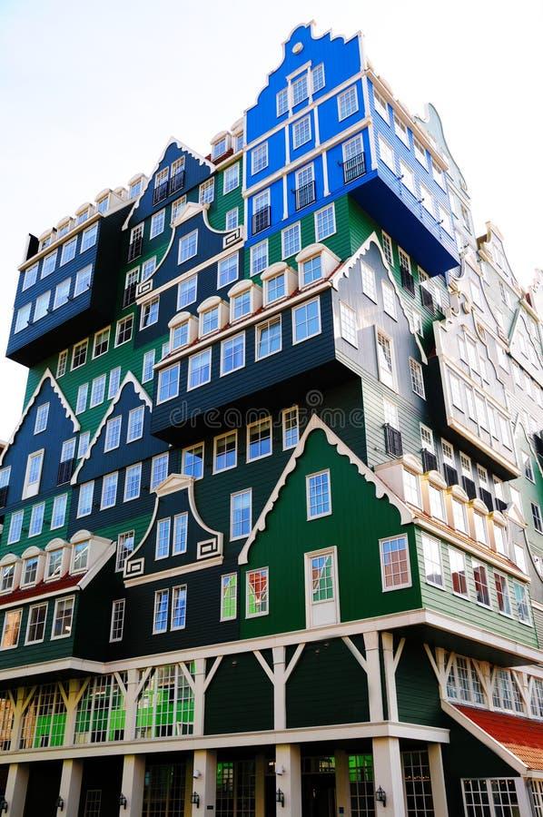 Arquitectura de Zaandam imagen de archivo