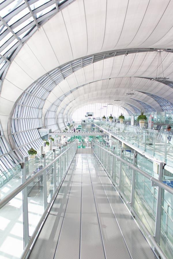 Arquitectura del aeropuerto imagen de archivo