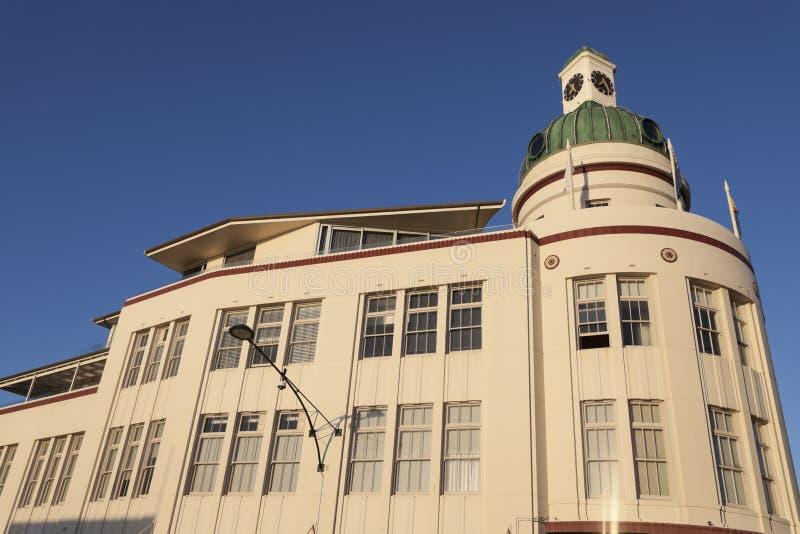 Arquitectura del art déco de Napier imagenes de archivo