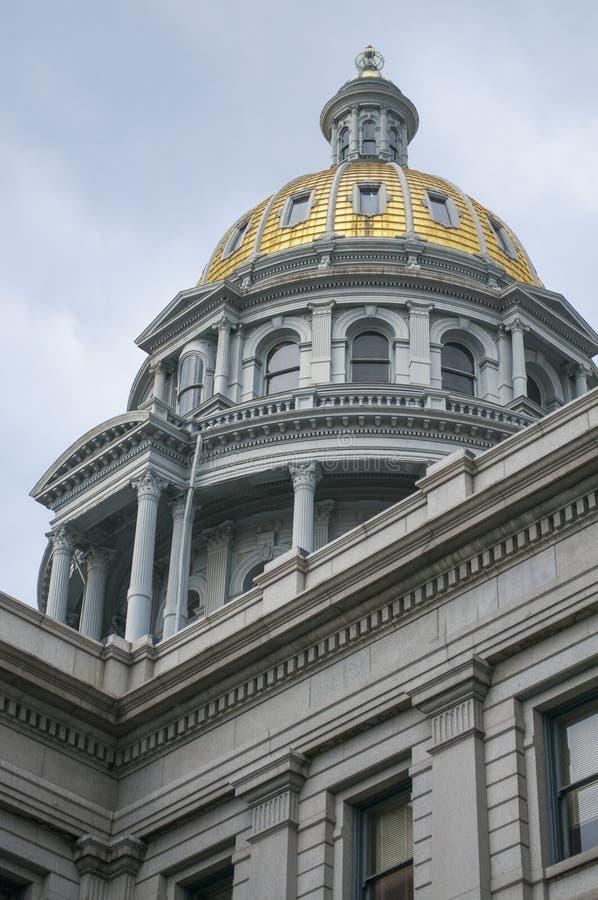 Arquitectura del capitolio del estado de Colorado fotos de archivo