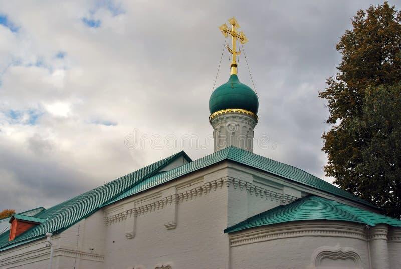 Arquitectura del convento de Novodevichy en Moscú fotografía de archivo