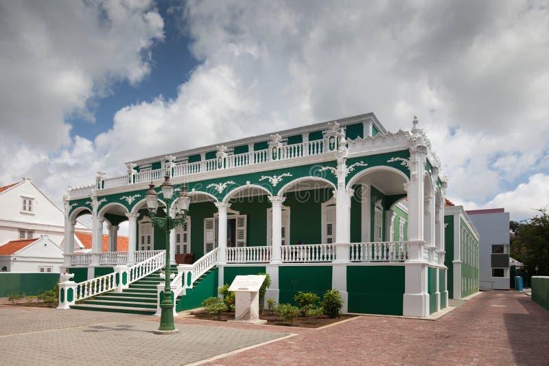 Arquitectura del distrito de Scarloo foto de archivo libre de regalías