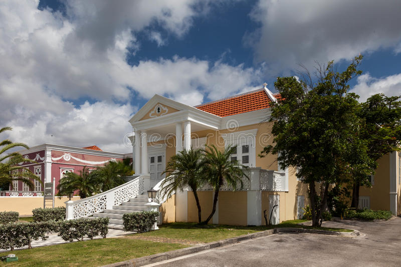 Arquitectura del distrito de Scarloo fotografía de archivo