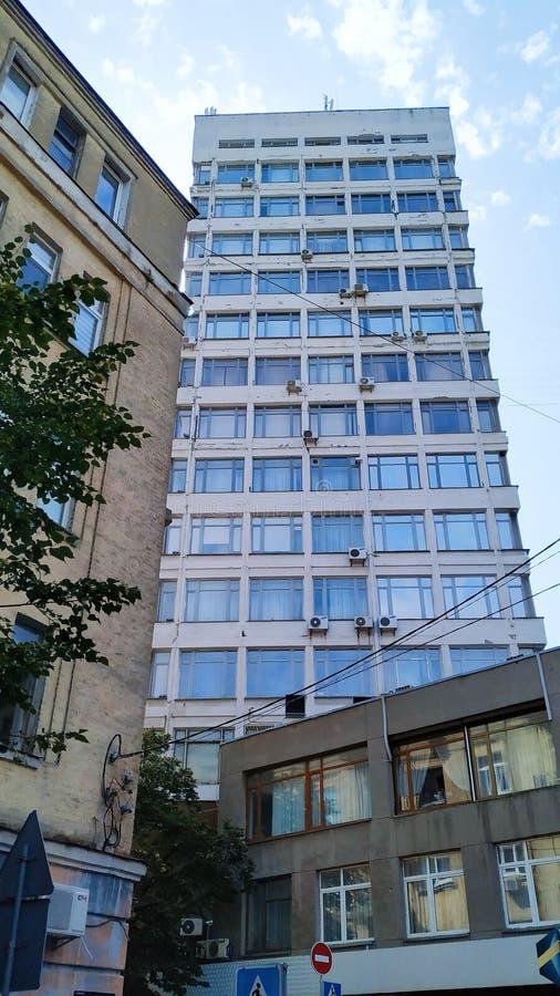 arquitectura del edificio de la ciudad de Kiev fotos de archivo libres de regalías