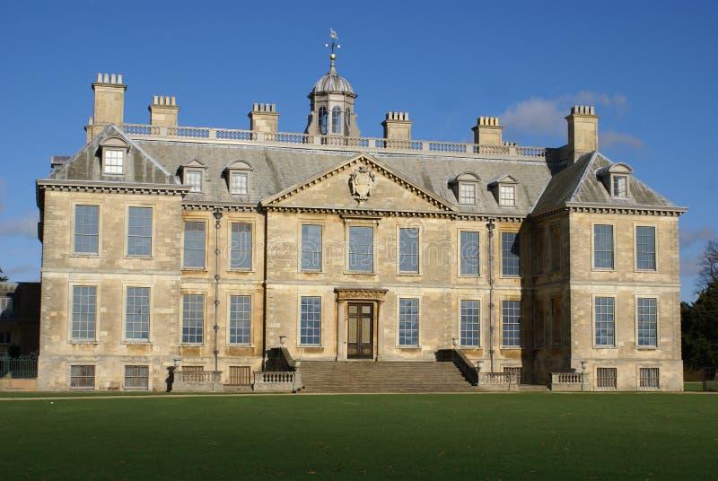 Arquitectura del estilo de la restauración en Lincolnshire, Inglaterra fotografía de archivo