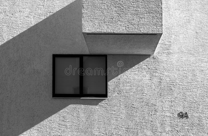 Arquitectura del extracto del alto contraste imágenes de archivo libres de regalías
