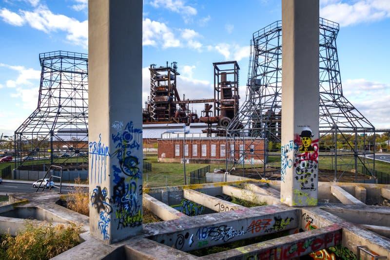 Arquitectura del otoño de Dortmund Alemania imagen de archivo libre de regalías