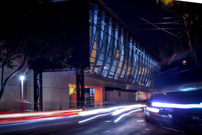Arquitectura en la ciudad WTC de México imagen de archivo