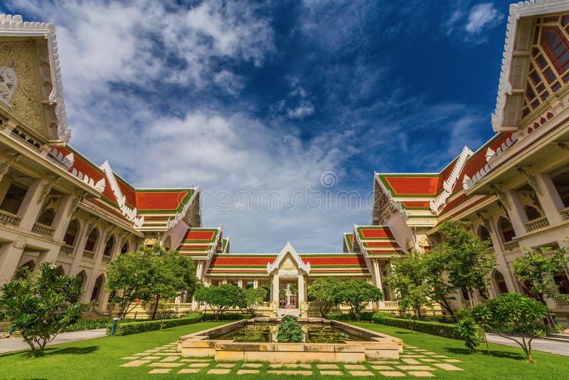 Arquitectura en la universidad de Chulalongkorn imagen de archivo libre de regalías