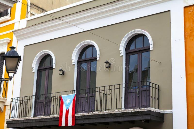Arquitectura en San Juan imagenes de archivo